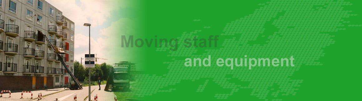 Moving-staff